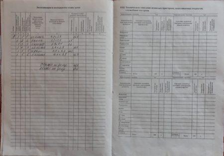 Образец технического паспорта 3 стр.