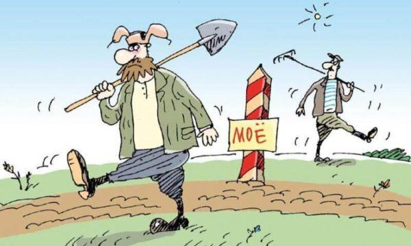 Незаконный захват земли общего пользования