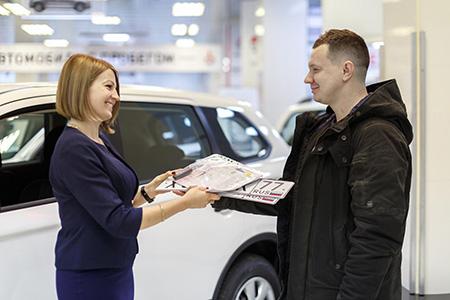 Регистрация, приобретаемого авто